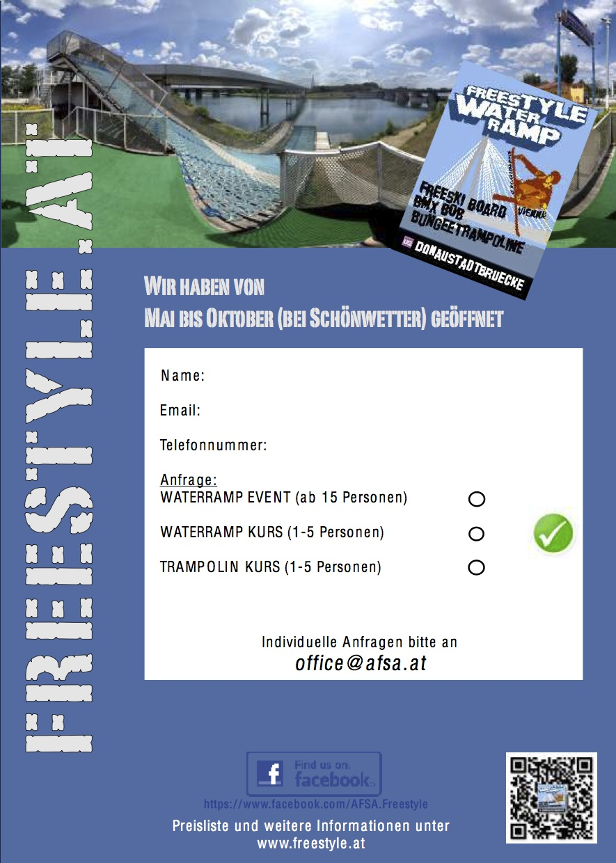 flyer2013 2 freestyle waterramp donauinsel. Black Bedroom Furniture Sets. Home Design Ideas