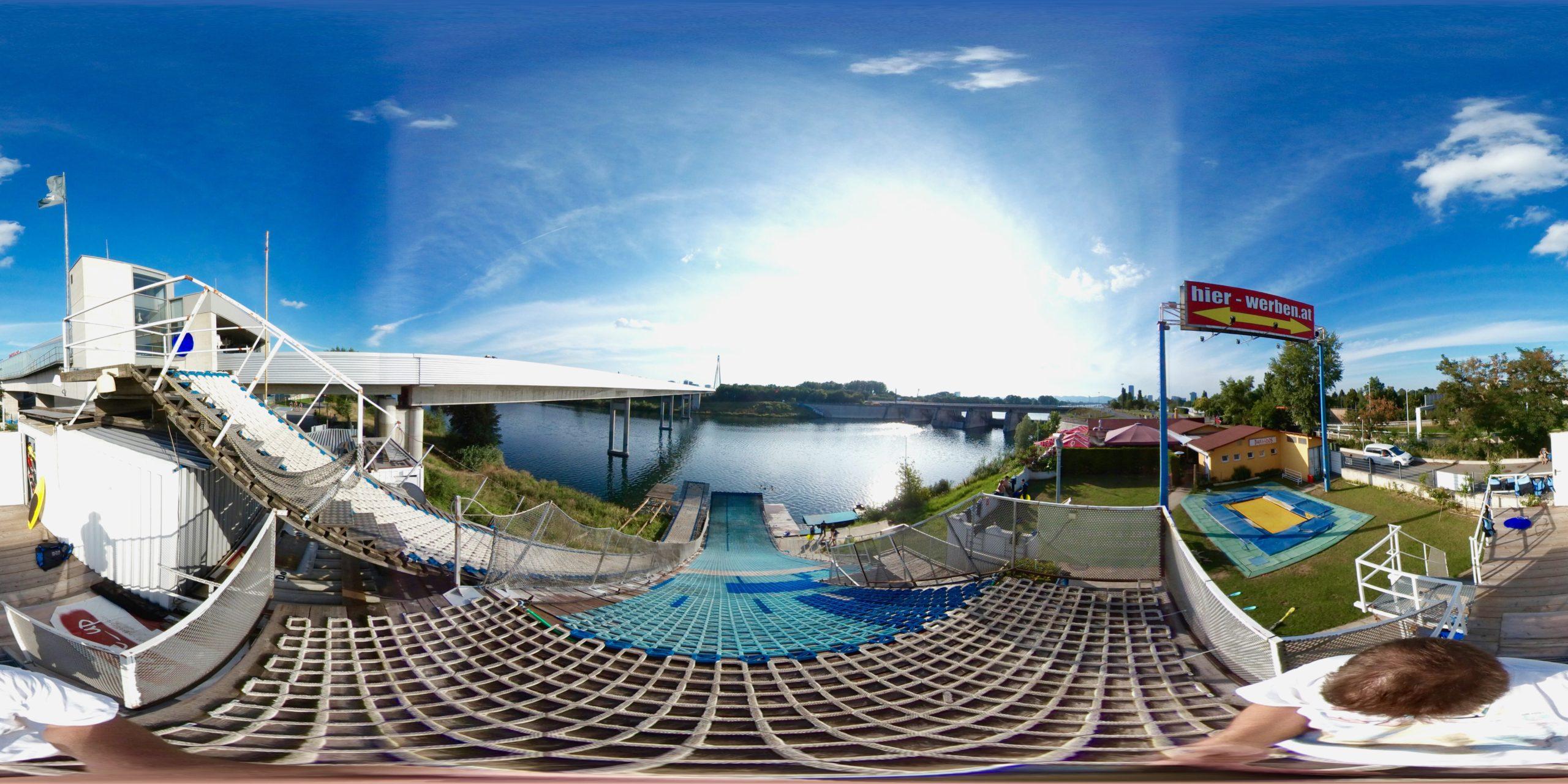 360° Panorama am Start der Mittleren Schanze