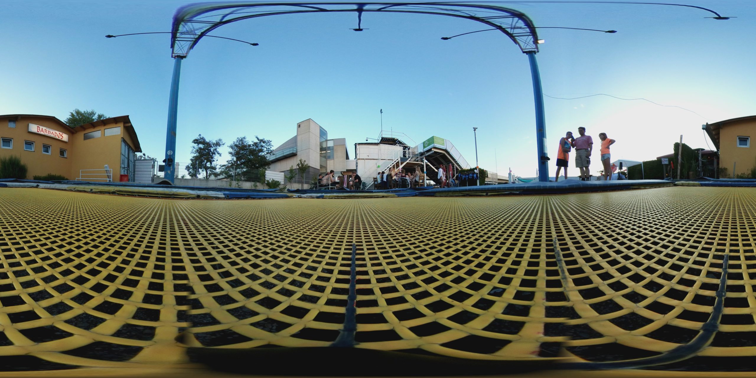 360° Panorama am Eurotramp